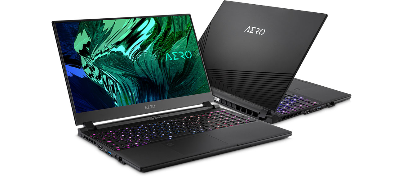 laptop dla gracza Gigabyte AERO 15 OLED YC