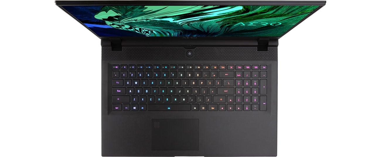 клавиатура с подсветкой Gigabyte AERO 17 HDR YC
