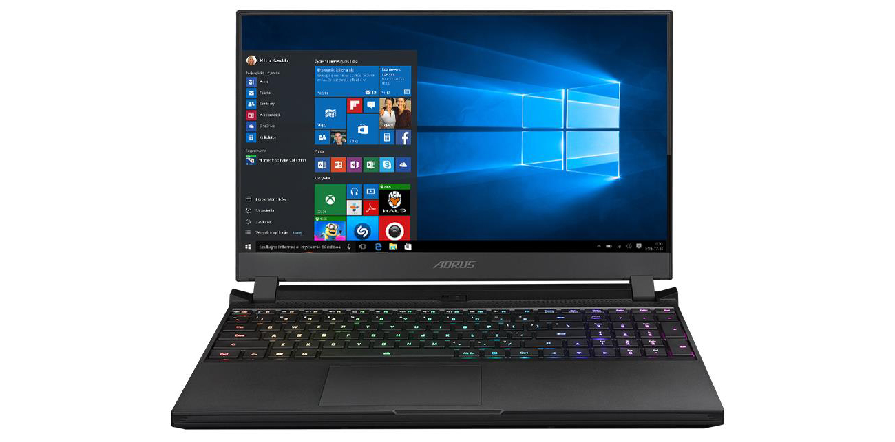 Laptop gamingowy Gigabyte AORUS 15P