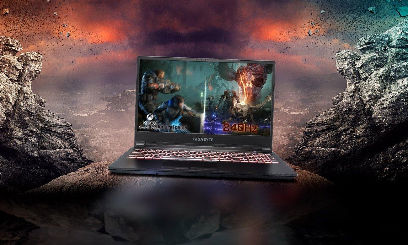 Odświeżanie 240 Hz i procesor Intel Core dziesiątej generacji