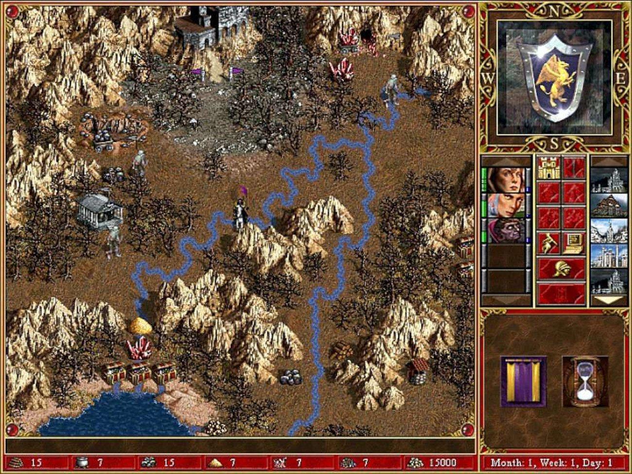 Gra Heroes of Might & Magic III: Complete na komputery PC