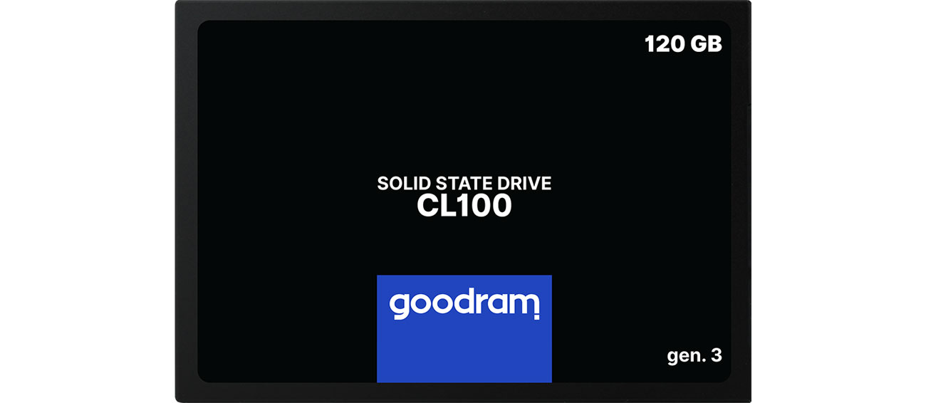 Dysk SSD GOODRAM 120GB 2,5'' SATA SSD CL100 gen.3 SSDPR-CL100-120-G3