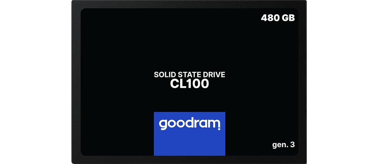 Dysk SSD GOODRAM 480GB 2,5'' SATA SSD CL100 gen.3 SSDPR-CL100-480-G3