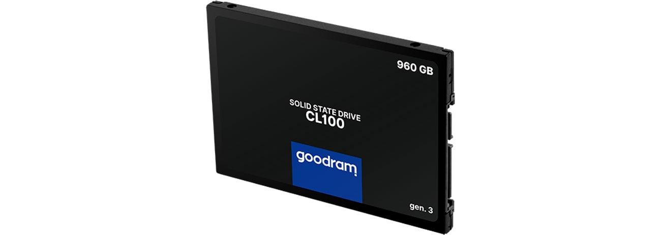 Dysk SSD GOODRAM 960GB 2,5'' SATA SSD CL100 gen.3 SSDPR-CL100-960-G3