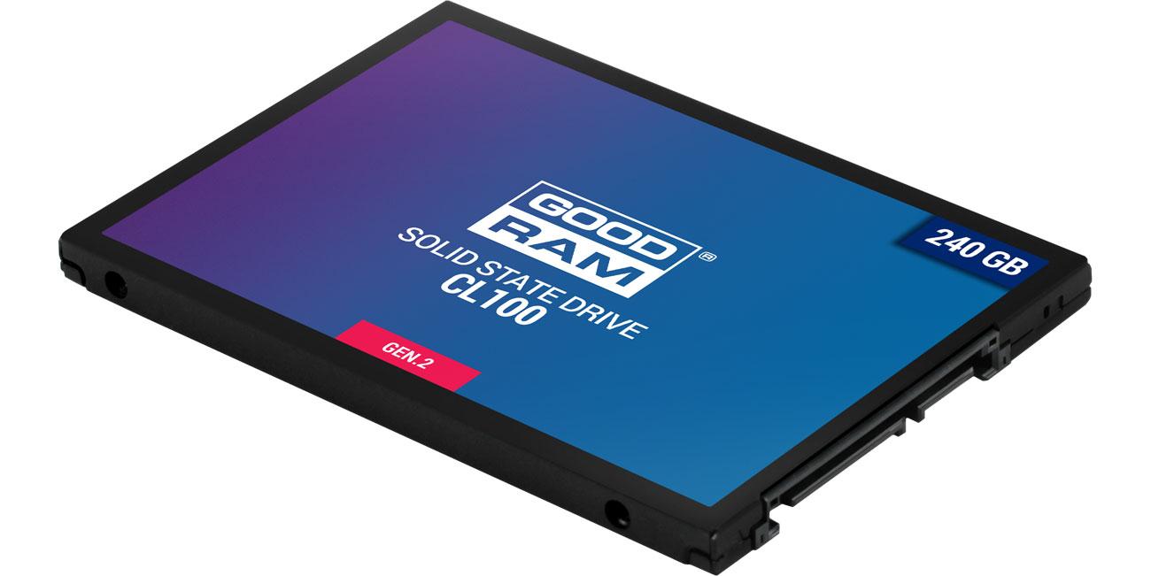 Dysk SSD GOODRAM 240GB 2,5'' SATA SSD CL100 SSDPR-CL100-240