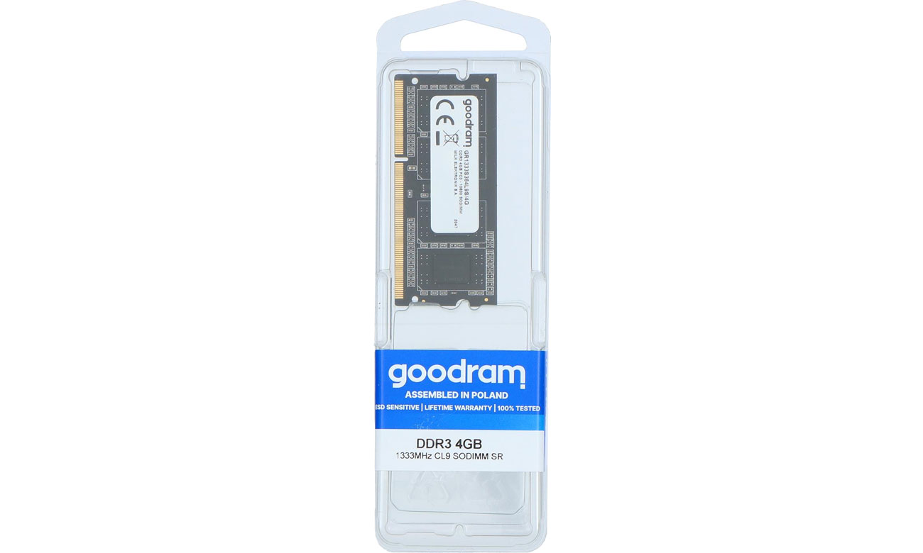 Pamięć GOODRAM DDR3 SO-DIMM