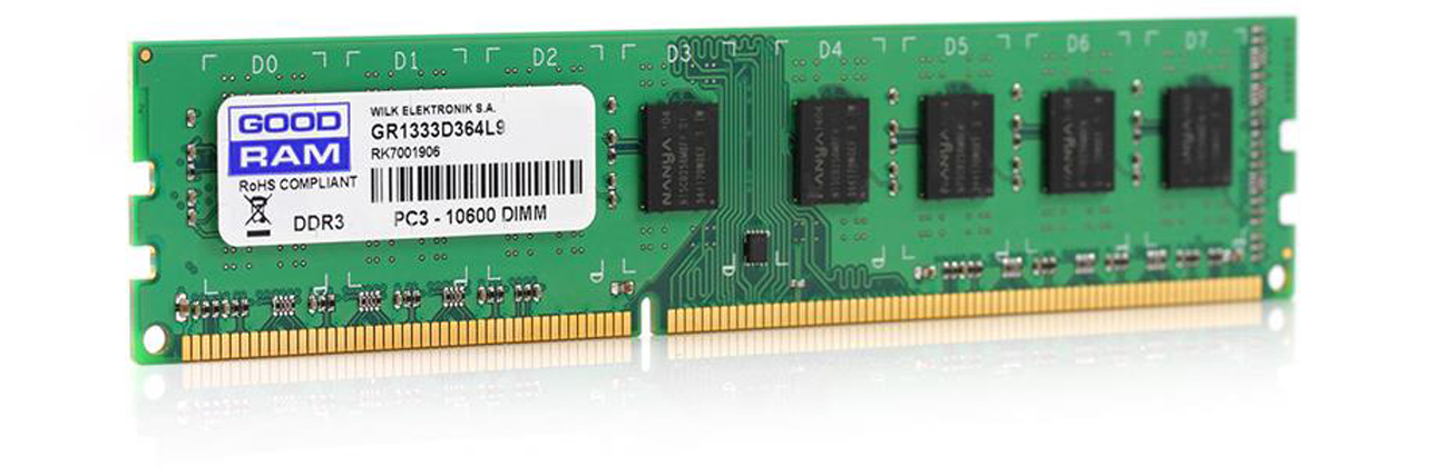 Pamięć RAM DDR3 GOODRAM 8GB 1333MHz CL9