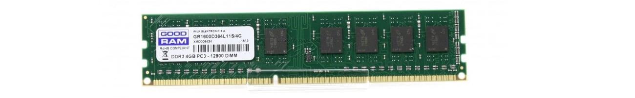 Pamięć RAM DDR3 GOODRAM CL11 wydajność