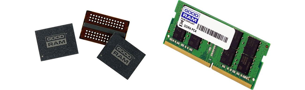 Jakość modułów pamięci GOODRAM SODIMM DDR4