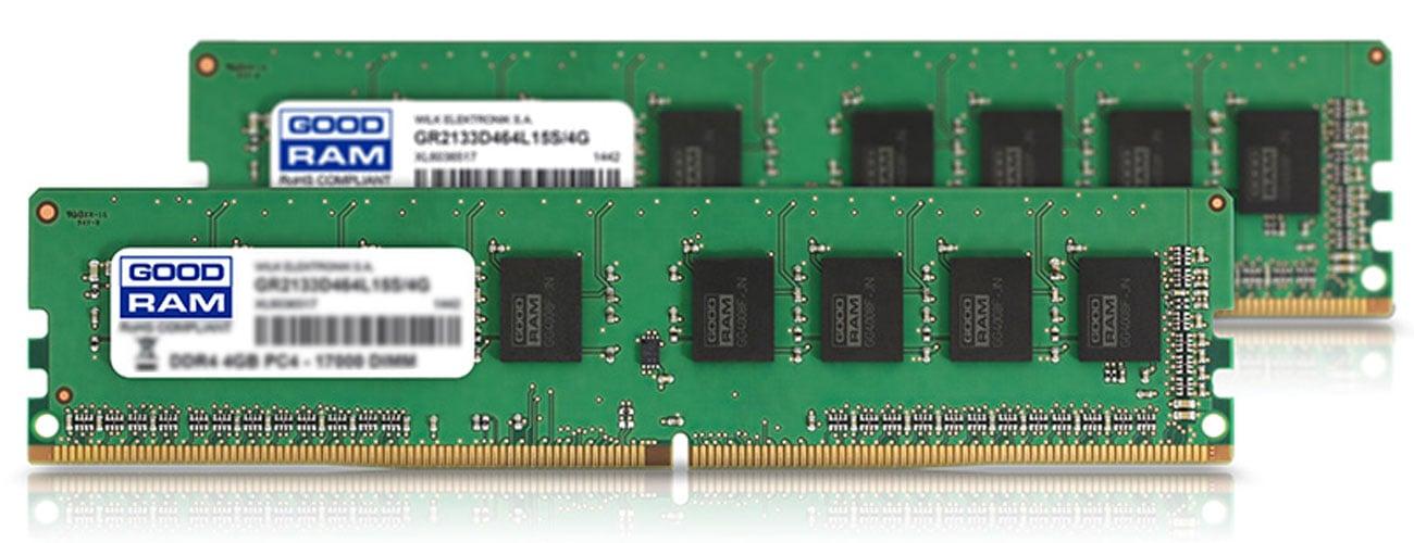 Moduły pamięci GOODRAM DDR4 Energooszczędność