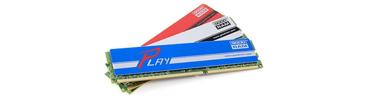 GOODRAM 4GB 1600MHz Jakość modułów pamięci GOODRAM
