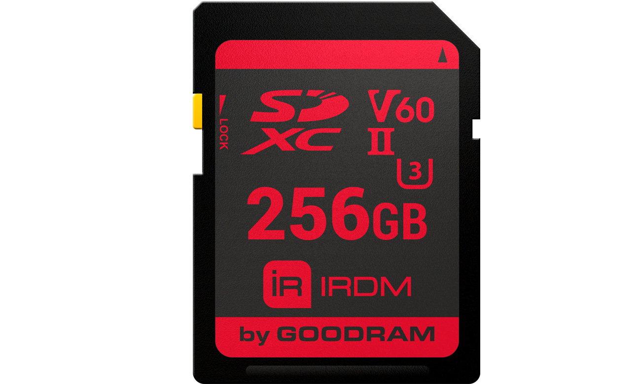 IRDM UHS-II U3 V60 CARD