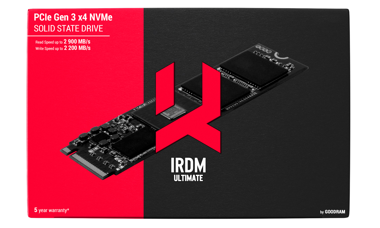 GOODRAM SSD IRDM ULTIMATE Dla najbardziej wymagających użytkowników