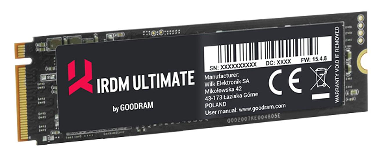 GOODRAM SSD IRDM ULTIMATE 5-letnia gwarancja i bezpłatne wsparcie techniczne