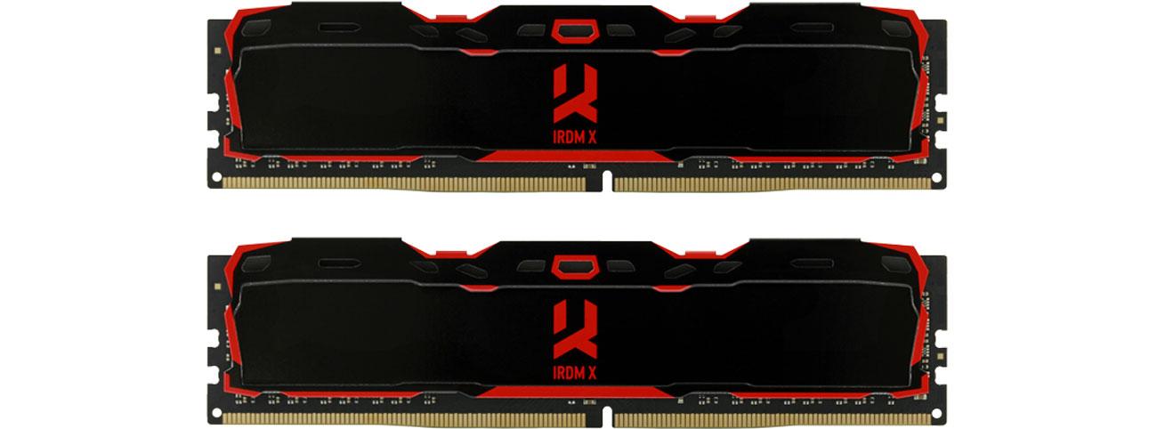 Pamięć RAM DDR4 GOODRAM 16GB 3000MHz IRDM X CL16 (2x8GB) Black