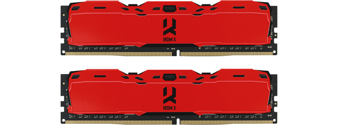 Pamięć RAM DDR4 GOODRAM 16GB 3000MHz IRDM X CL16 (2x8GB) Red