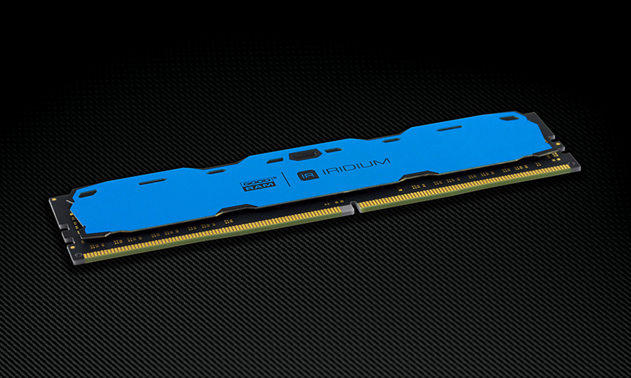 Pamięć RAM DDR4 GOODRAM 8GB 2400MHz Iridium CL15 Blue