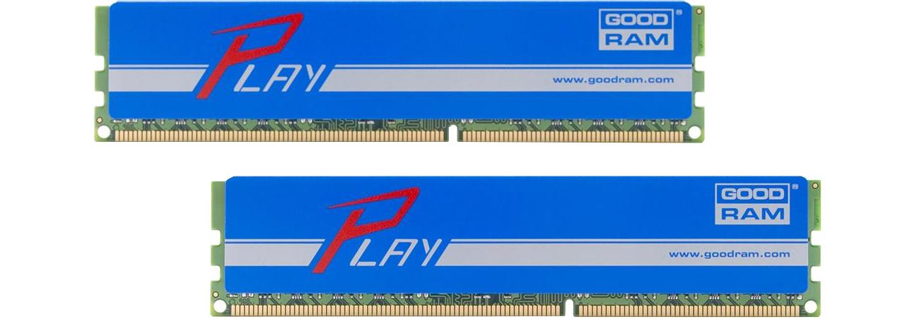 Pamięć RAM DDR4 GOODRAM Play BLUE GYB2400D464L15S/16GDC