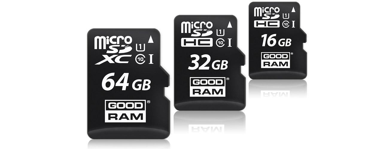 GOODRAM 8GB microSDHC funkcjonalność