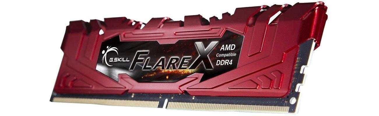 Pamięć RAM DDR4 FlareX Black Ryzen Red