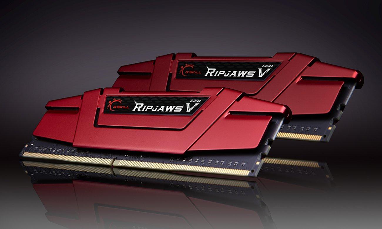 Kompatibilität und Leistung am Arbeitsplatz mit dem Speicher G.SKILL 16GB Kit DDR4 3200MHz Ripjaws V Rot