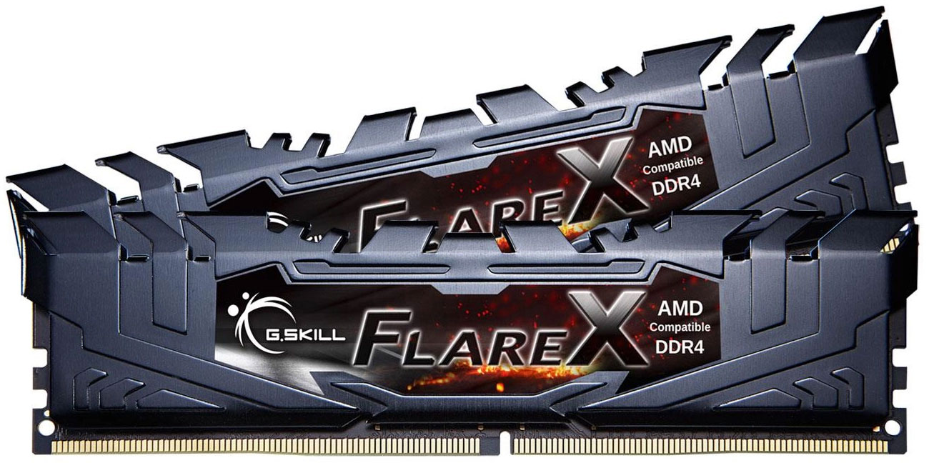G.SKILL 16GB 3200MHz Flare X Black Ryzen CL16 2x8GB