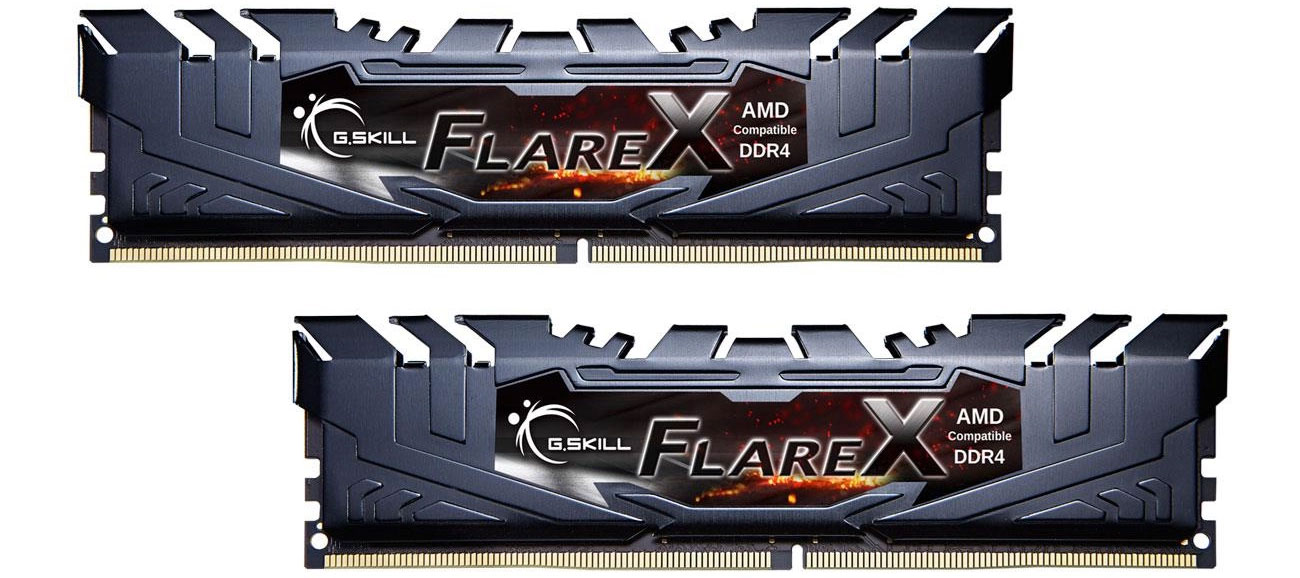G.SKILL FlareX Black Ryzen F4-3200C16D-16GFX