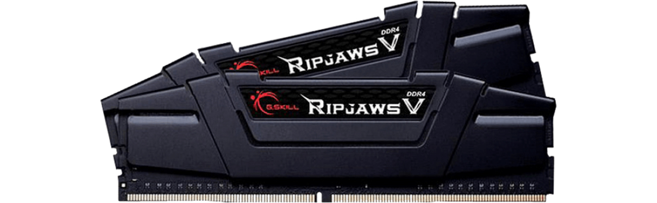 Ripjaws V Black CL16 (2x16384) F4-3200C16D-32GVK