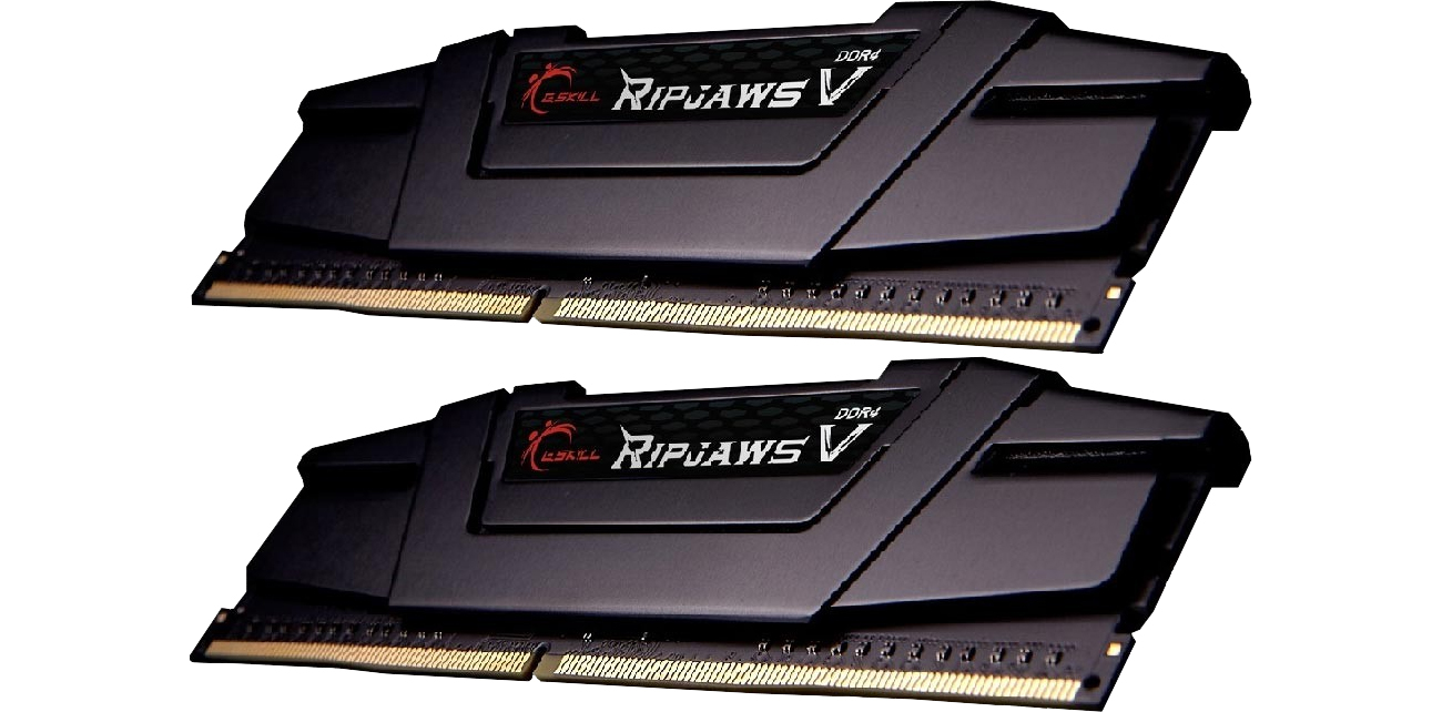 Ripjaws V Black CL16 (2x16384) F4-3200C16D-32GVK  42 mm