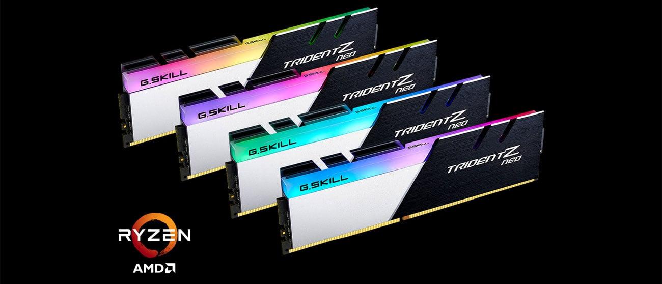 Pamięć RAM DDR4 G.SKILL 16GB 3600MHz TridentZ RGB Neo CL18 F4-3600C18D-16GTZN