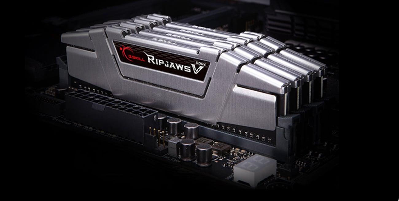 G.SKILL 16GB 3000MHz RipjawsV CL16 RED Idealna konstrukcja 42 mm