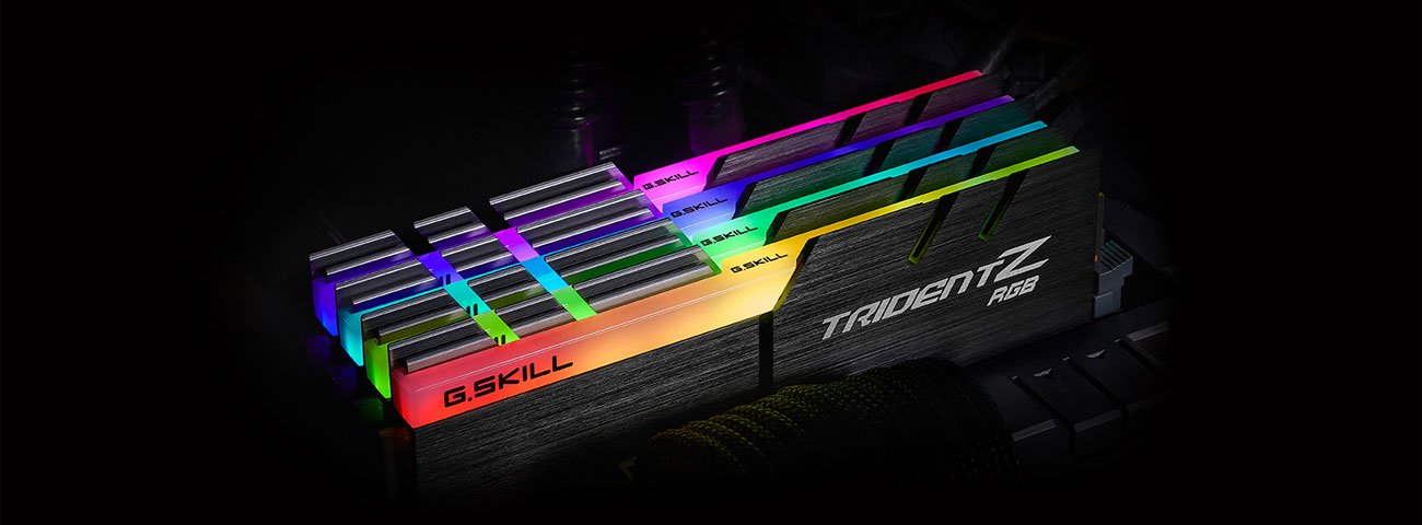 Pamięć RAM DDR4 G.SKILL 16GB 4400MHz Trident Z RGB
