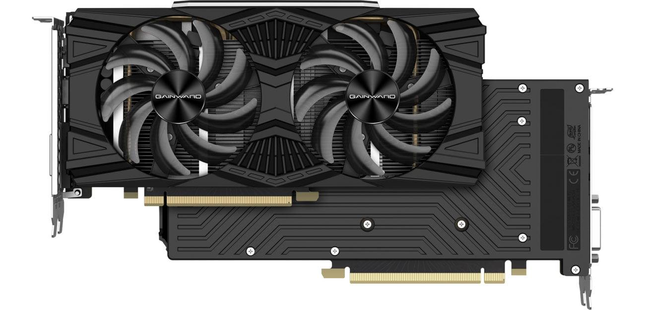 Gainward GeForce RTX 2060 SUPER Ghost - Chłodzenie