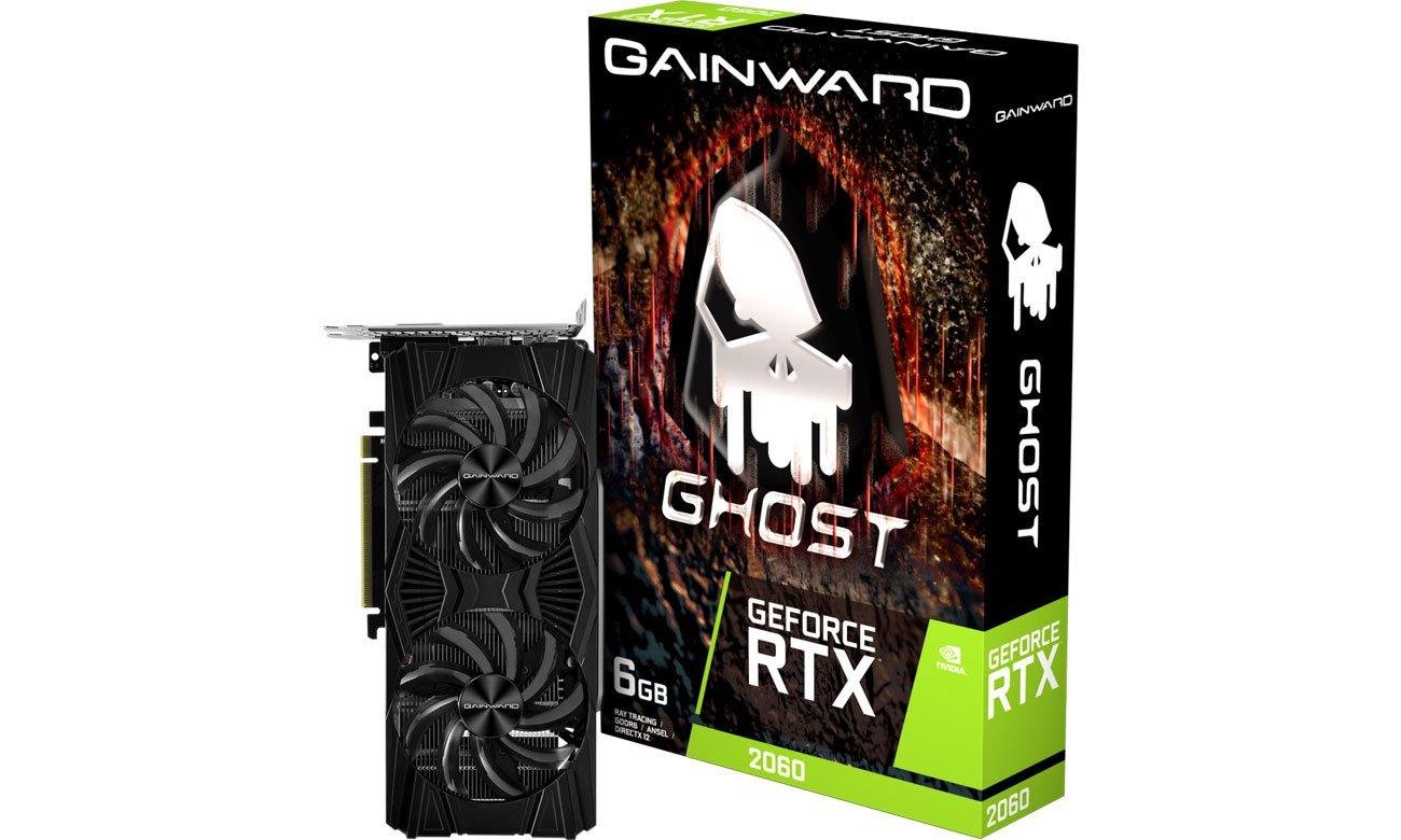 Karta graficzna NVIDIA Gainward GeForce RTX 2060 Ghost 6GB GDDR6 471056224-2614