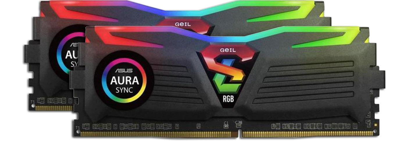 Pamięć RAM DDR4 GeIL 16GB 2400MHz Super Luce CL16 (2x8GB)