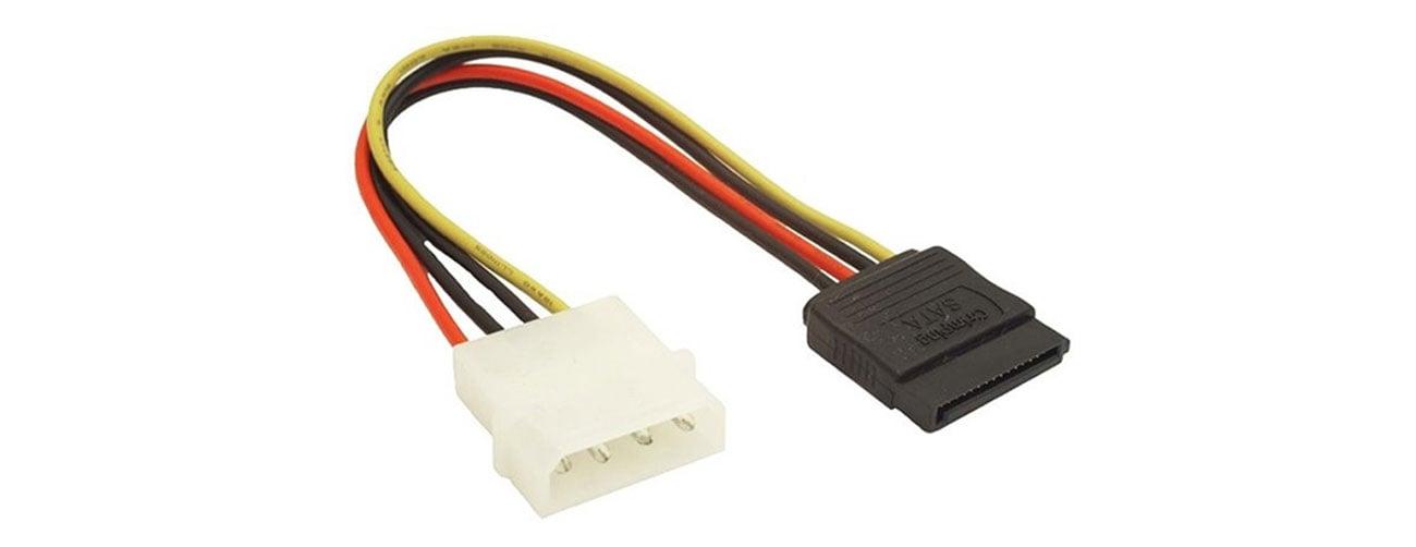 Przejściówka Gembird molex->SATA zasilanie SATA HDD/ODD CC-SATA-PS