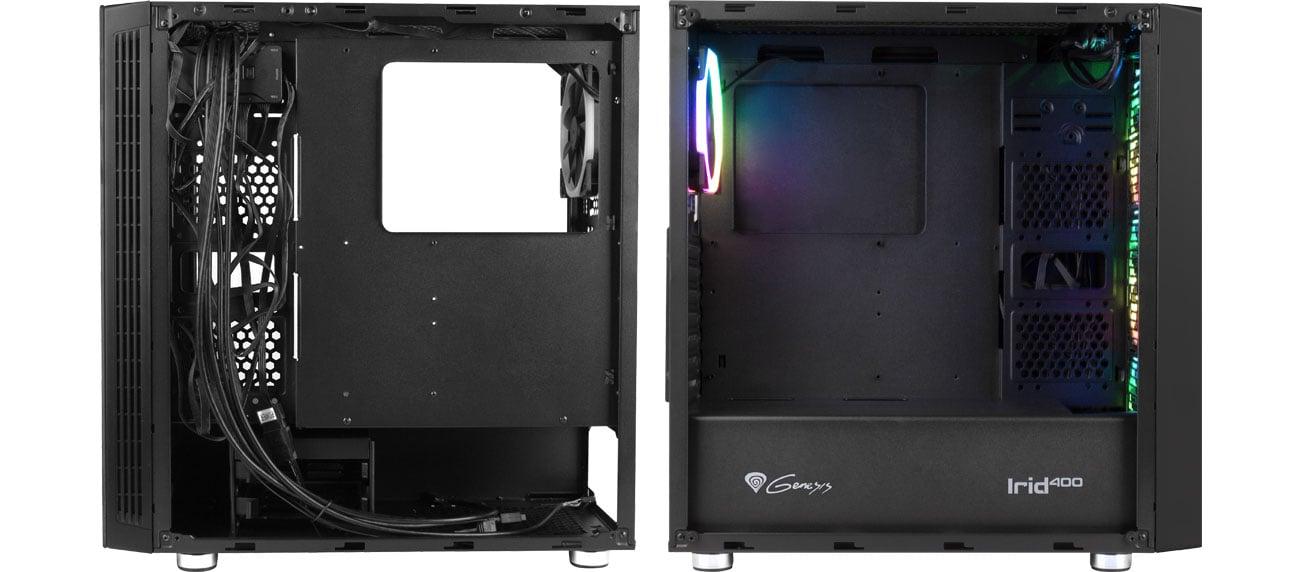 Genesis Irid 400 RGB - Wnętrze
