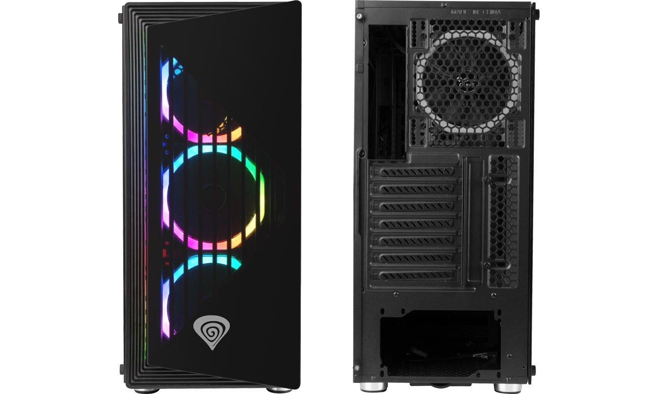 Genesis Irid 400 RGB - Przód, tył