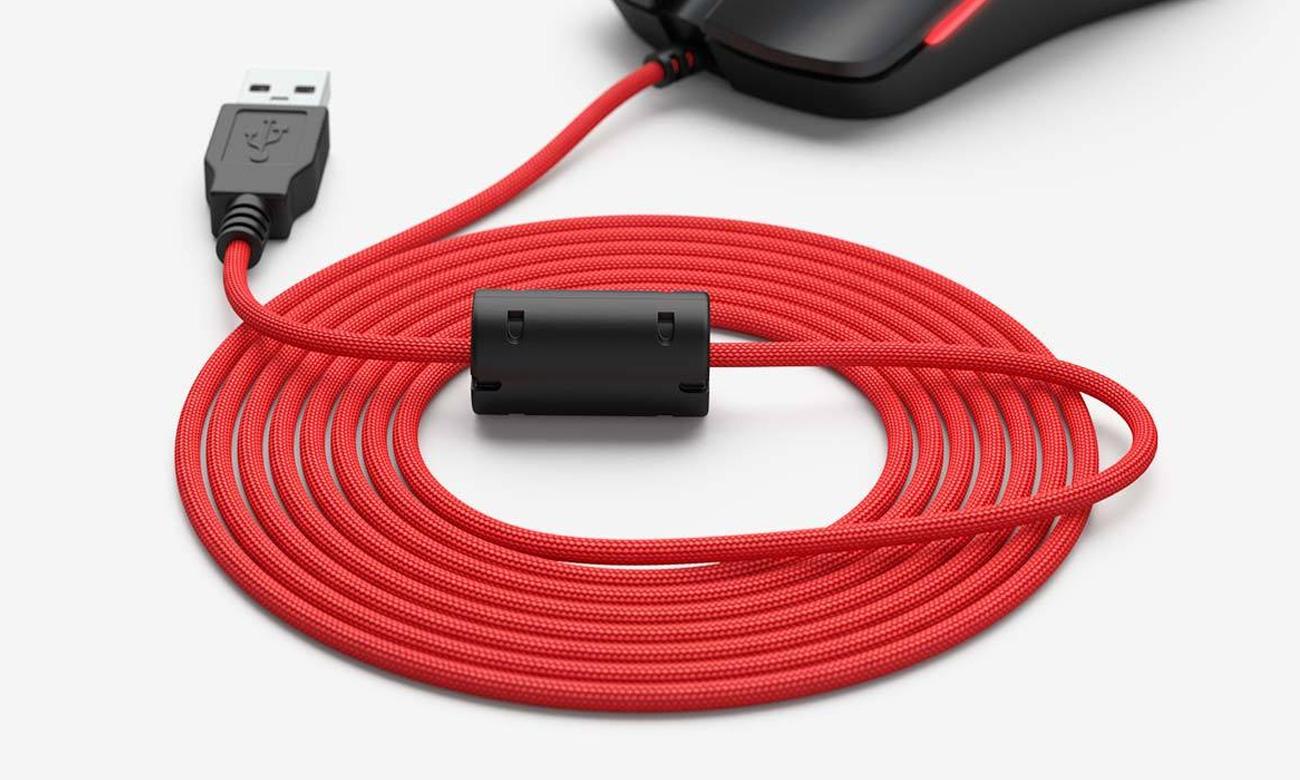 Kabel do myszki Glorious PC Gaming Race Ascended Cable V2 - Cobalt Blue