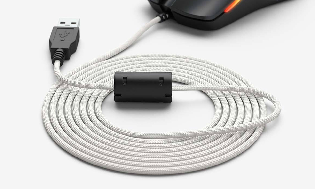 Kabel do myszki Glorious PC Gaming Race Ascended Cable V2 - Arctic White
