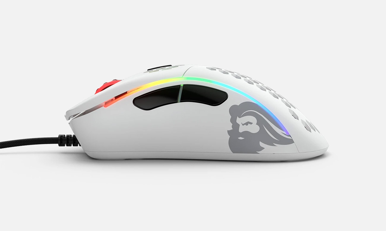 Glorious PC Gaming Race Model D- Matte White