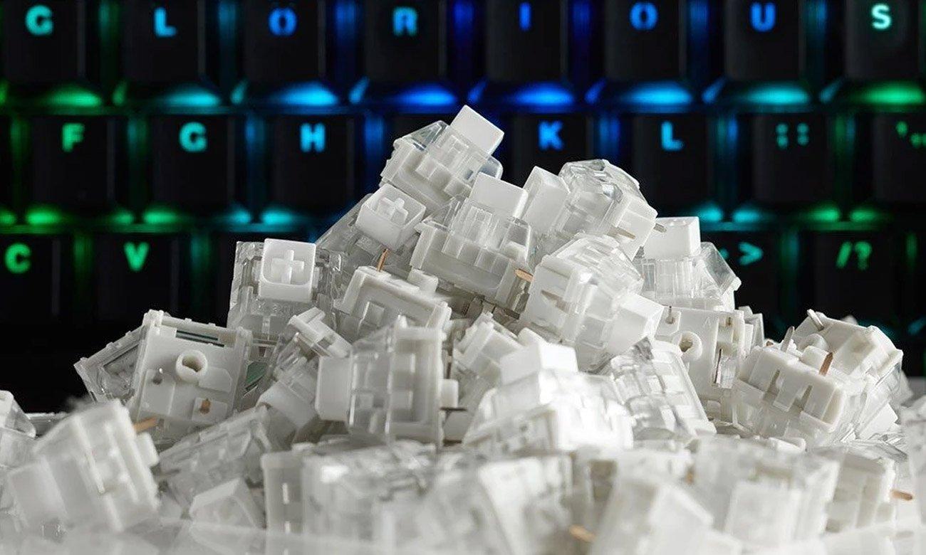 Przełączniki mechaniczne Glorious PC Gaming Race Kailh Box White