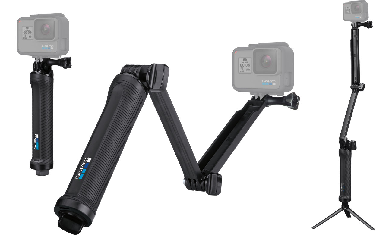 Monopod GoPro 3-way