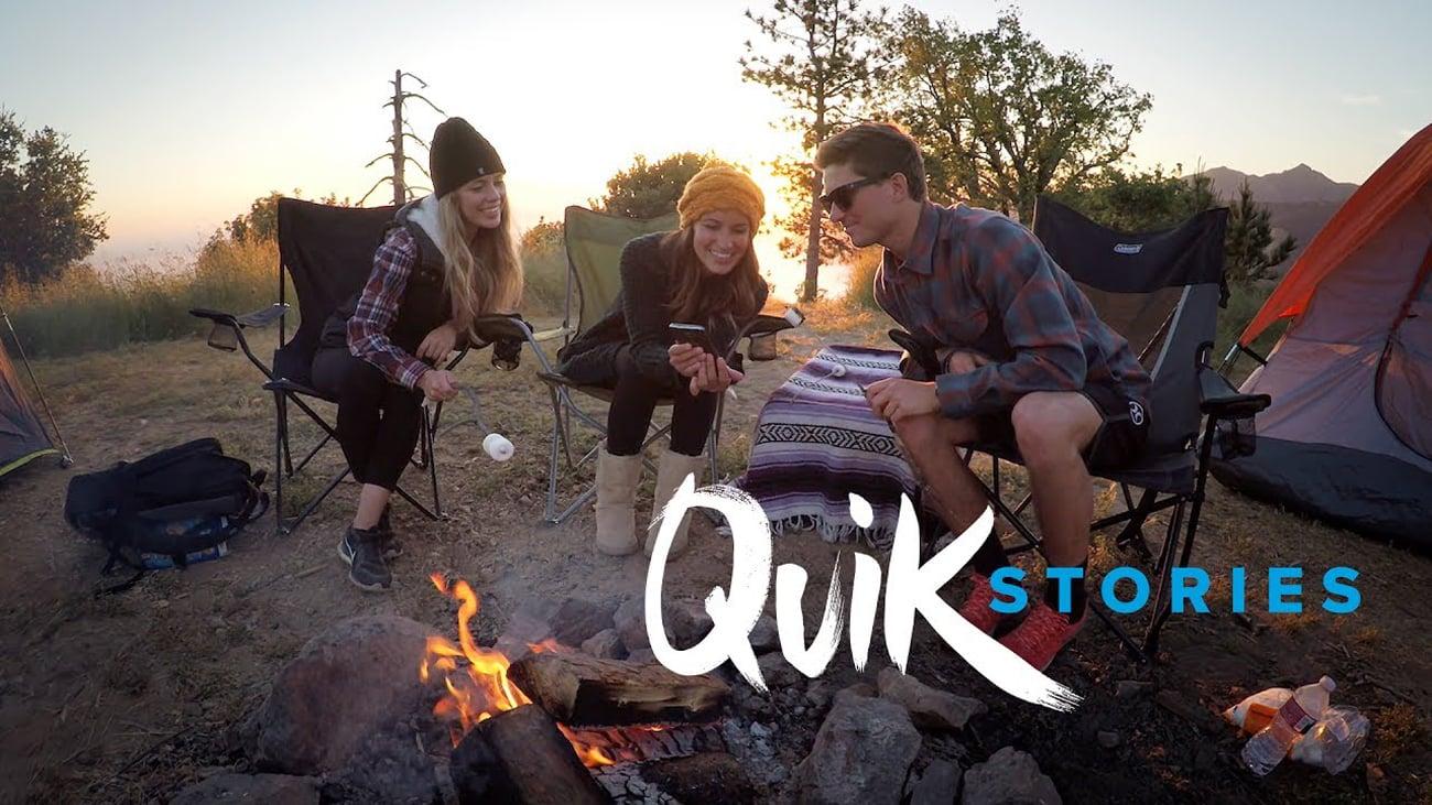 Obsługa funkcji QuikStories