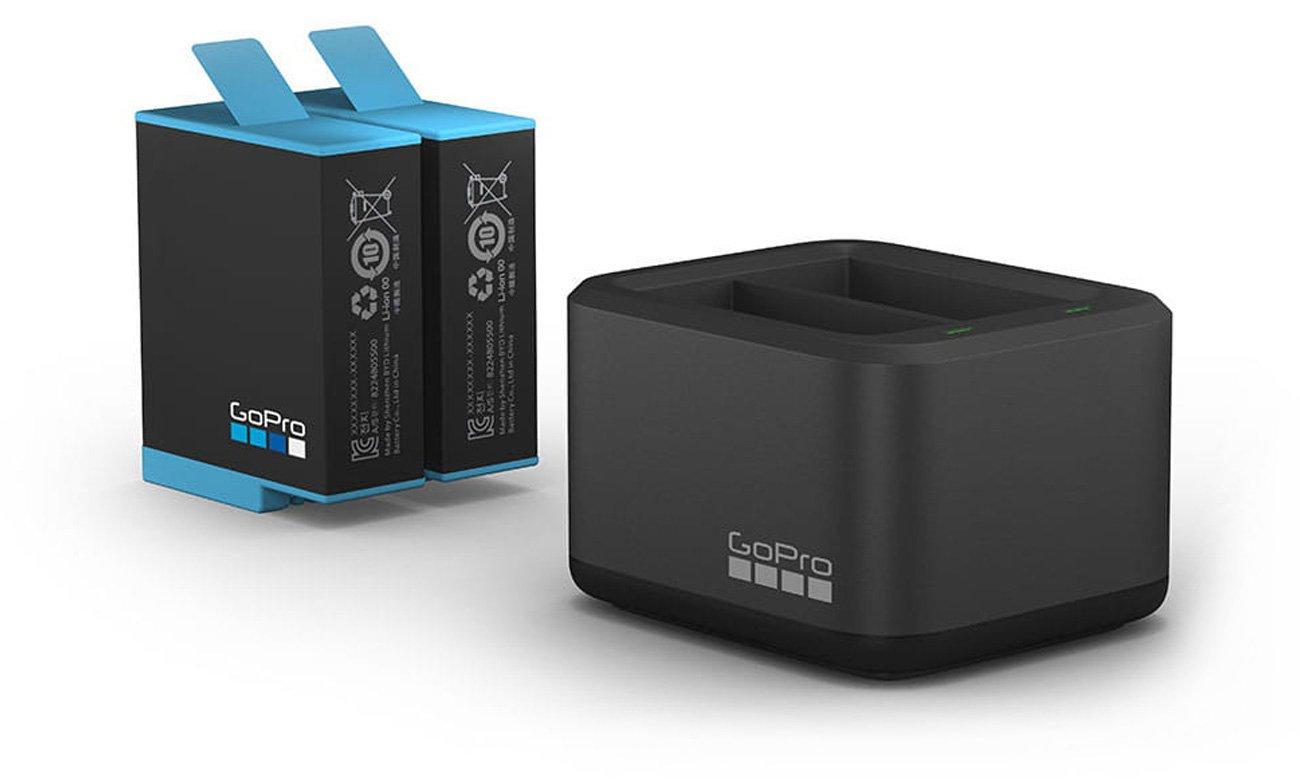 Ładowarka GoPro Dual Charger + akumulator do HERO9