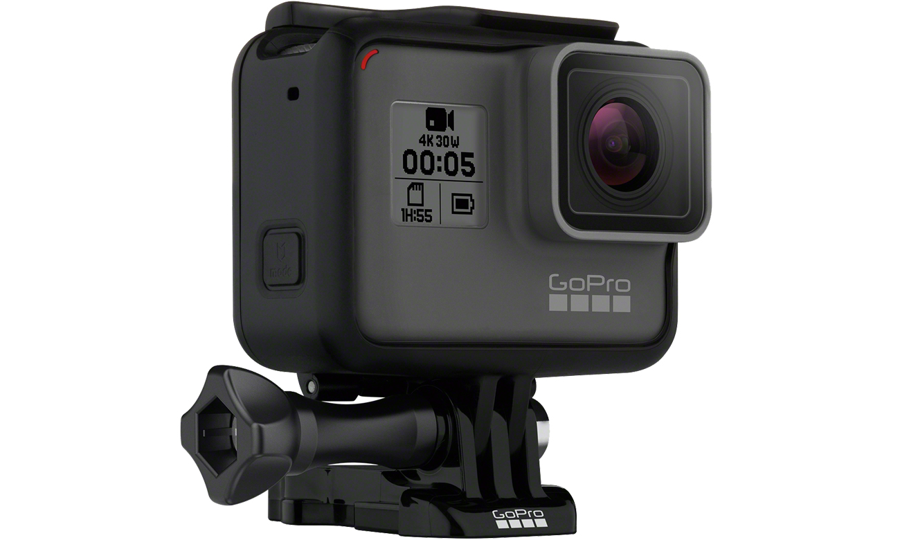Kamera GoPro HERO5 Black 3 wbudowane mikrofony