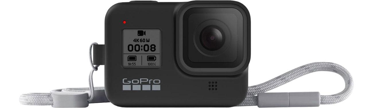 GoPro Silikonowe Etui do HERO8 Black czarne AJSST-001