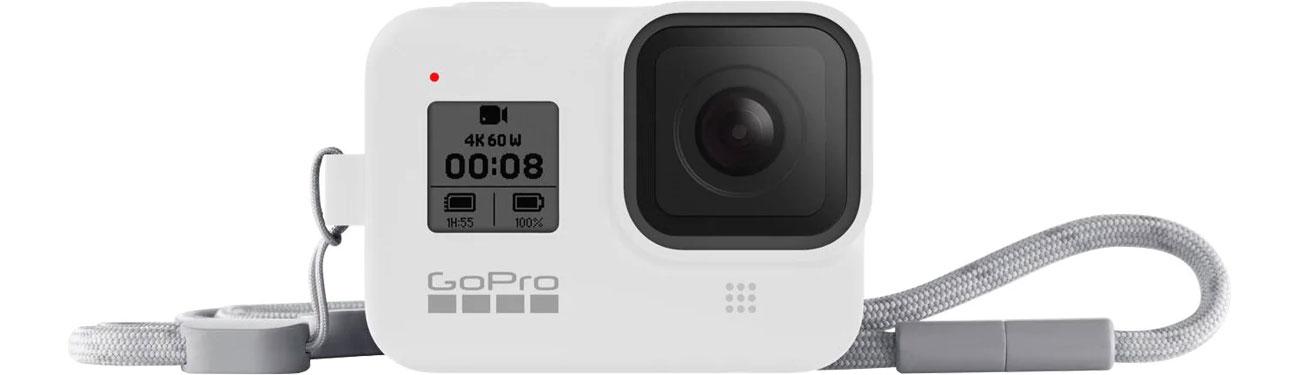 GoPro Silikonowe Etui do HERO8 Black białe AJSST-002