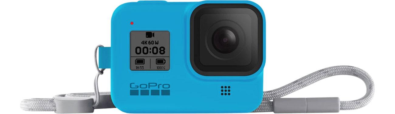 GoPro Silikonowe Etui do HERO8 Black niebieskie AJSST-003