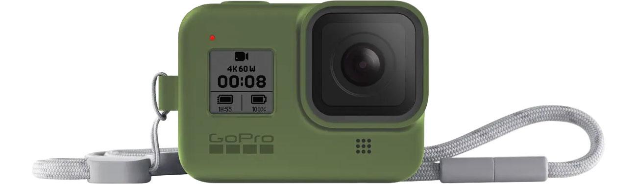 GoPro Silikonowe Etui do HERO8 Black zielone AJSST-005